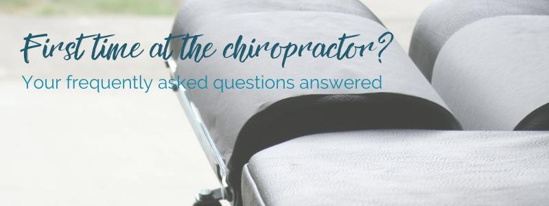 first chiropractor visit