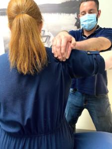 David Sanda peforms RAPID NeuroFascial Reset at Calgary's Movement Performance & Health Clinic