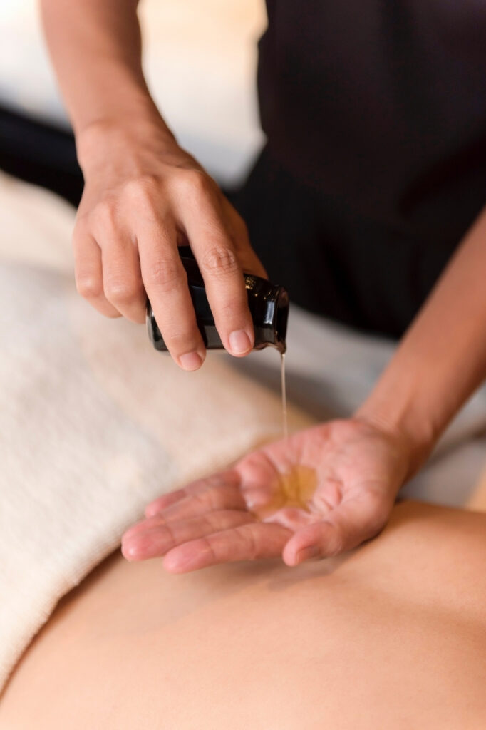 essential oils used in massage therapy treatment