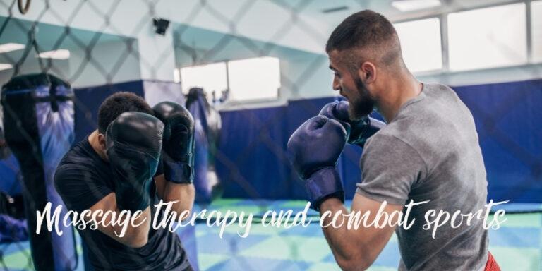 calgary massage for combat sport athletes